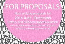 ACCEPTING PROPOSALS