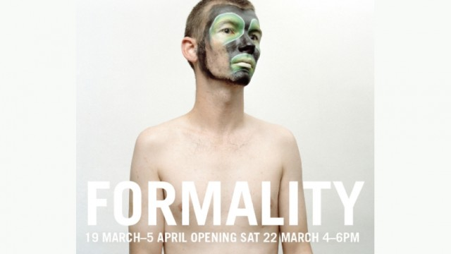GALLERY 1 & 2 : MAR 19 - APR 5 'FORMALITY' by Guest Curator Paul Batt