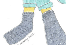 GALLERY ONE: JENNIFER ROOKE: I was wearing socks: OCTOBER 15 - NOVEMBER 1, 2014