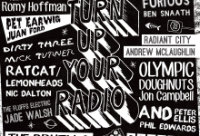 GALLERY 1&2: APR 11 - 25: Turn Up Your Radio by guest curator Brendan Lee